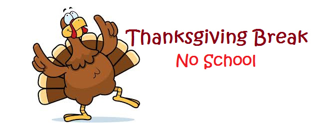 Image result for thanksgiving week no school