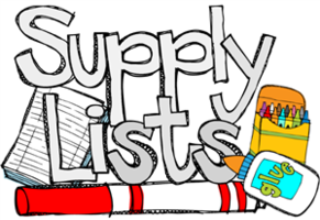 Elementary Supply Lists 2018-2019