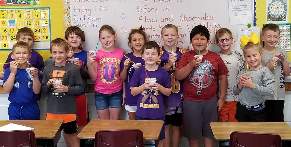 August Class Attendance Winners