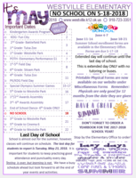 May Elementary Newsletter