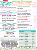 April Elementary Newsletter